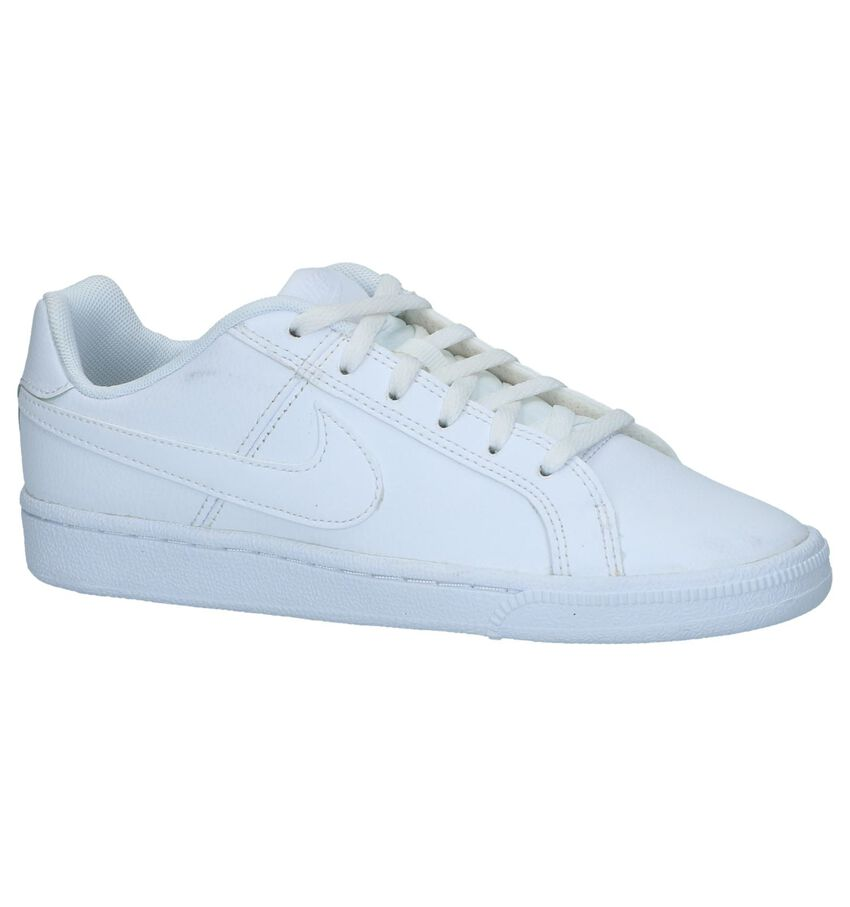 Witte Lage Sneakers Nike Court Royale