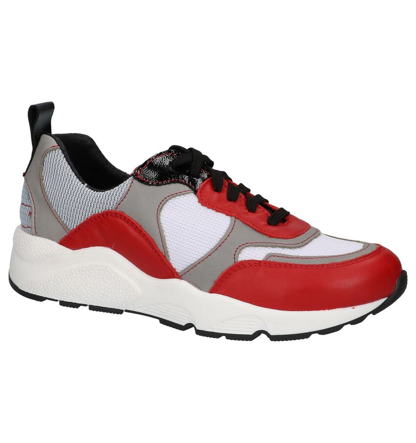 Poelman Meerkleurige Sneakers