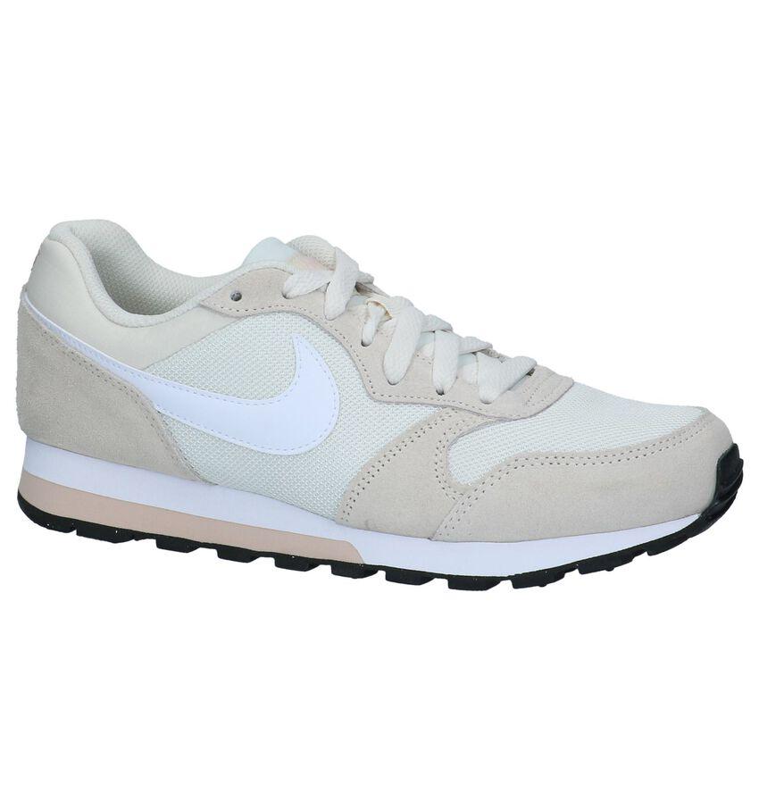 Lichtbeige Sportieve Sneakers Nike MD Runner 2
