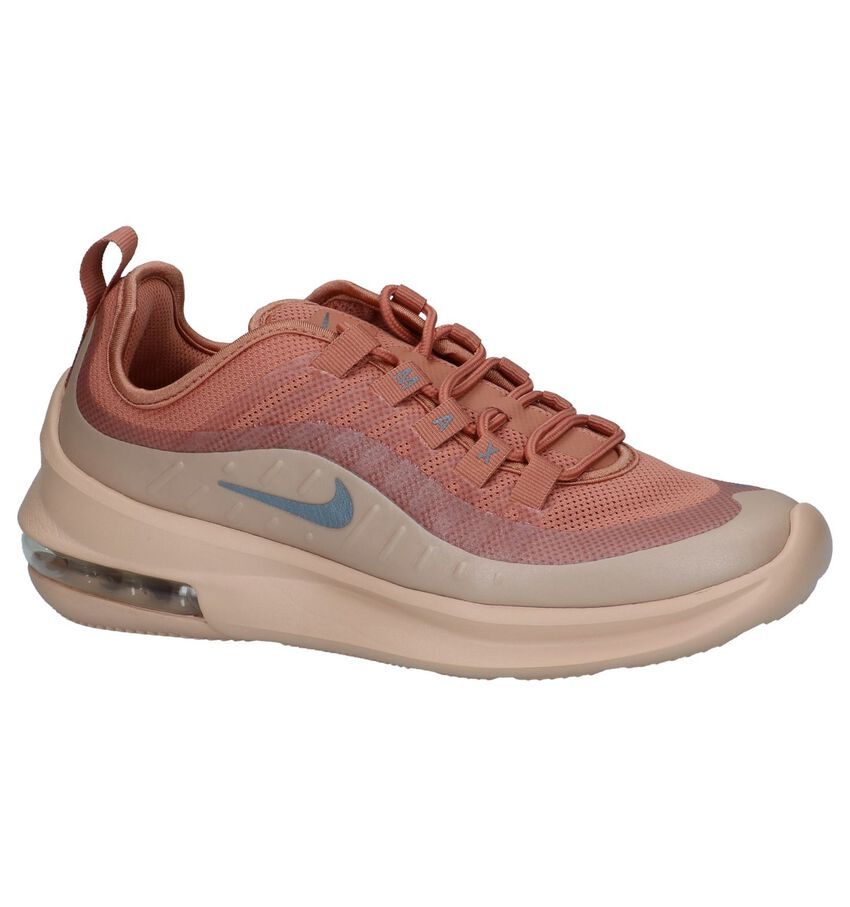 Donker Roze Runner Sneakers Nike Air Max Axis