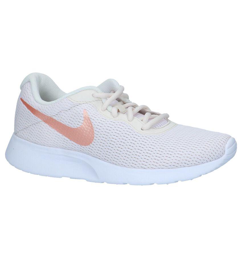 Nike Tanjun Ecru Lage Sneakers