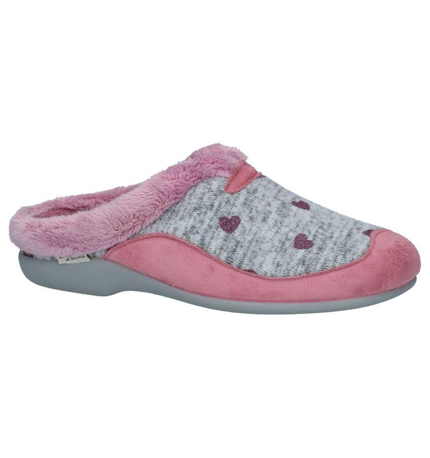 Grijs/Roze Pantoffels La Maison de l'Espadrille
