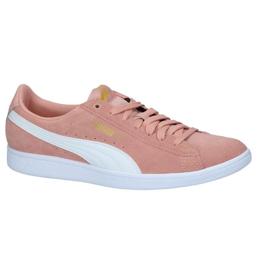 Roze Lage Sportieve Sneakers Puma Vikky