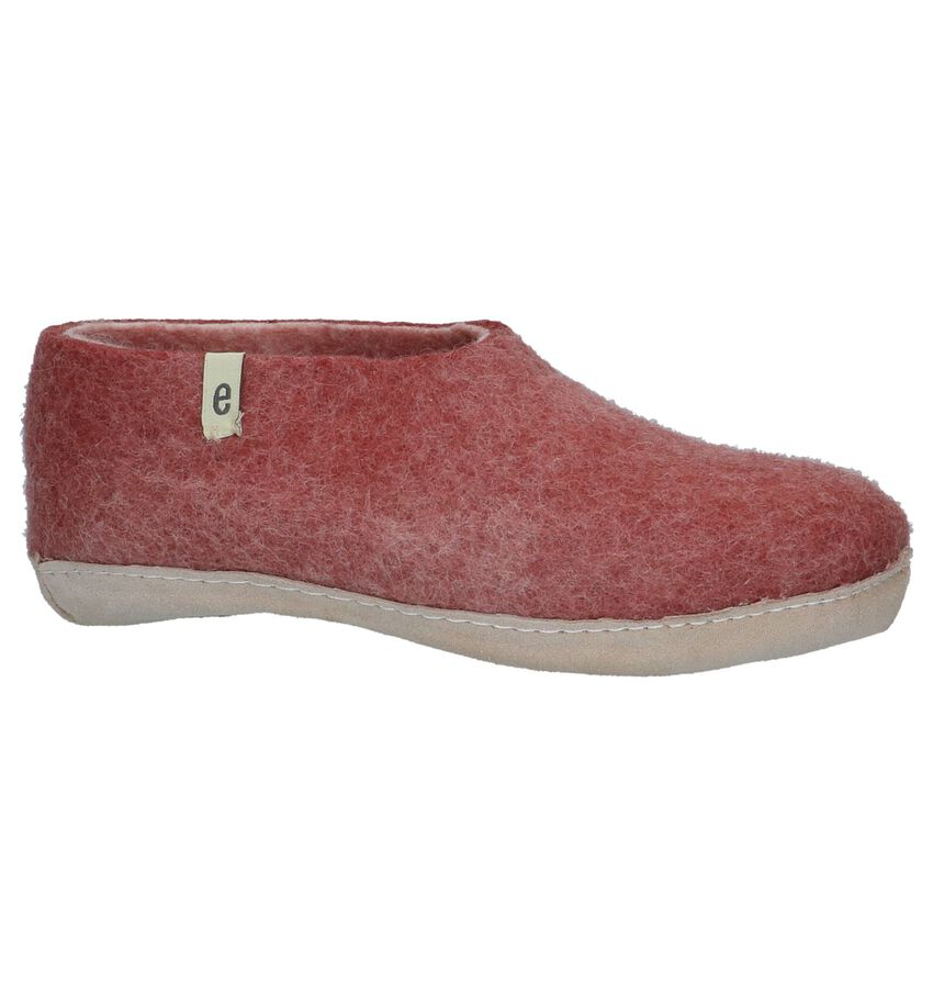 Egos Classic Donker Roze Pantoffels