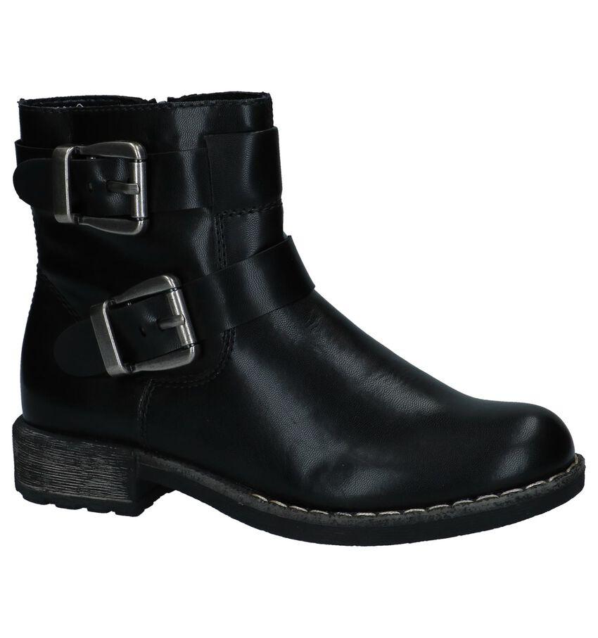 Stoere Zwarte Boots Rieker