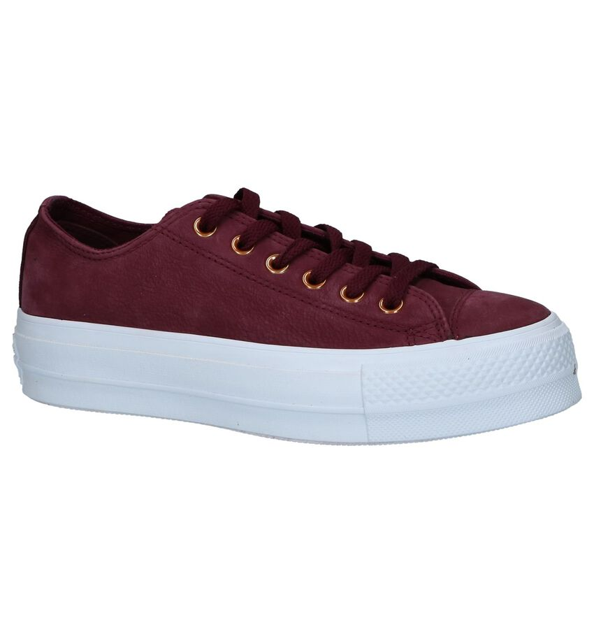 Converse All Star Lift Clean Bordeaux Sneakers