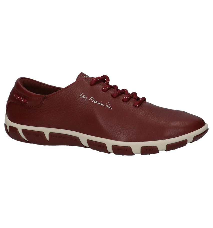Tbs Jazaru Veterschoenen Bordeaux