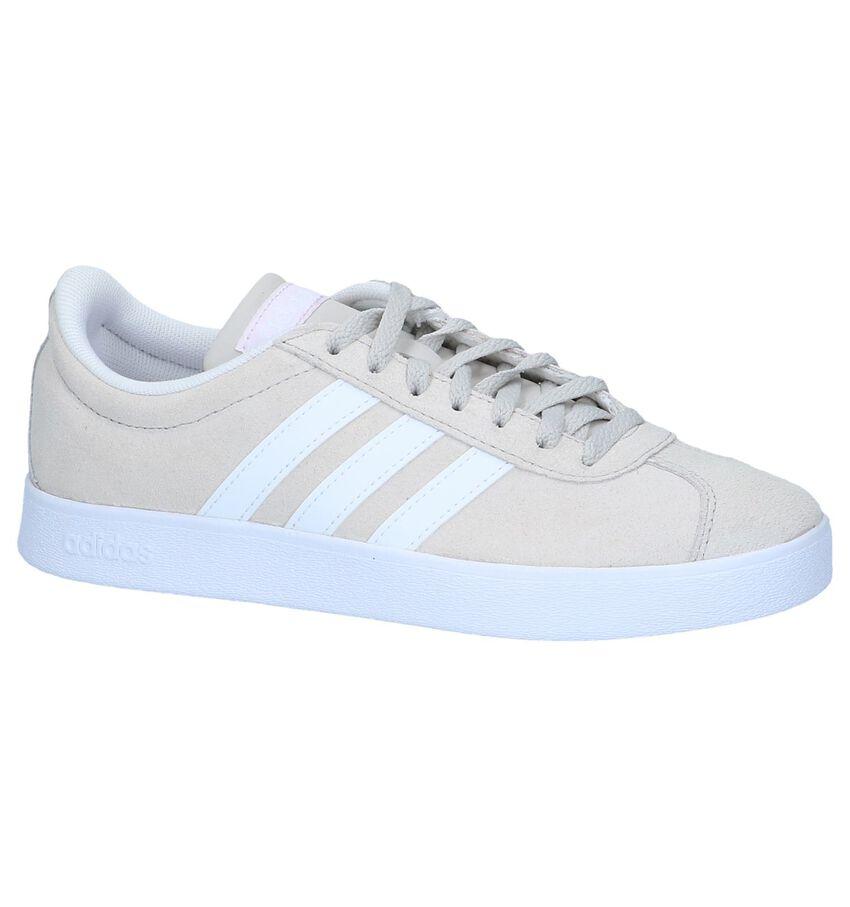 Lichtbeige Sneakers adidas VL Court