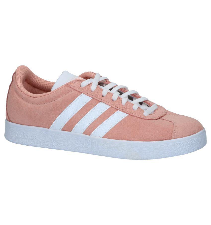 Zalmroze adidas VL Court 2.0 Sneakers