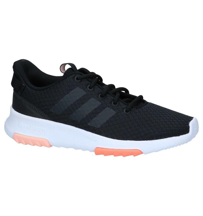 Zwarte Runners adidas Cloudfoam Racer TR