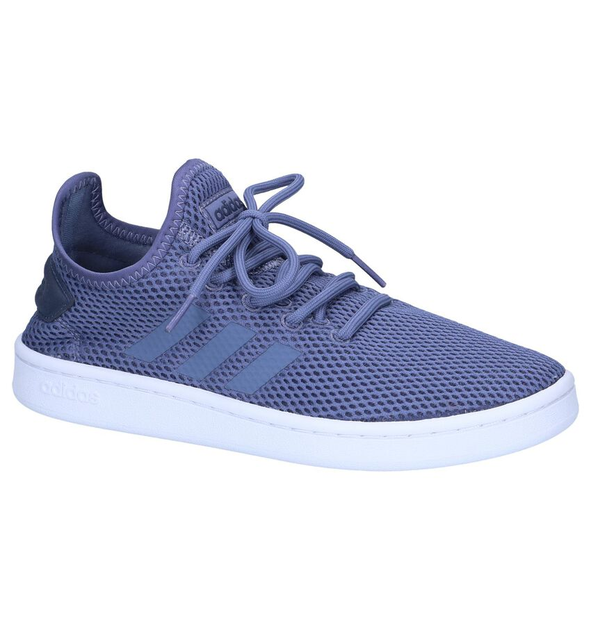 Blauwe Sneakers adidas Court Adapt