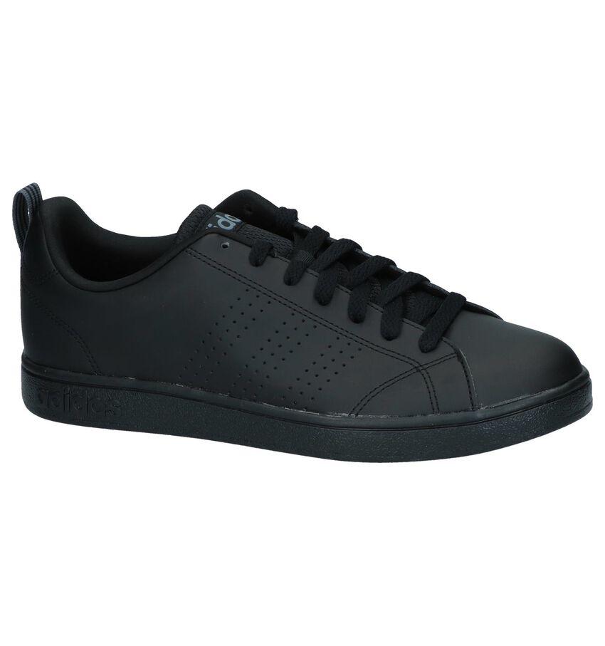 Zwarte Sneakers adidas Advantage Clean