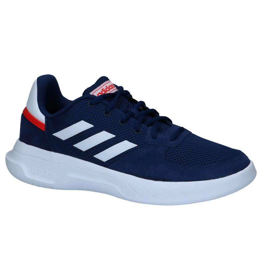 Donkerblauwe adidas Fusion Flow Sneakers