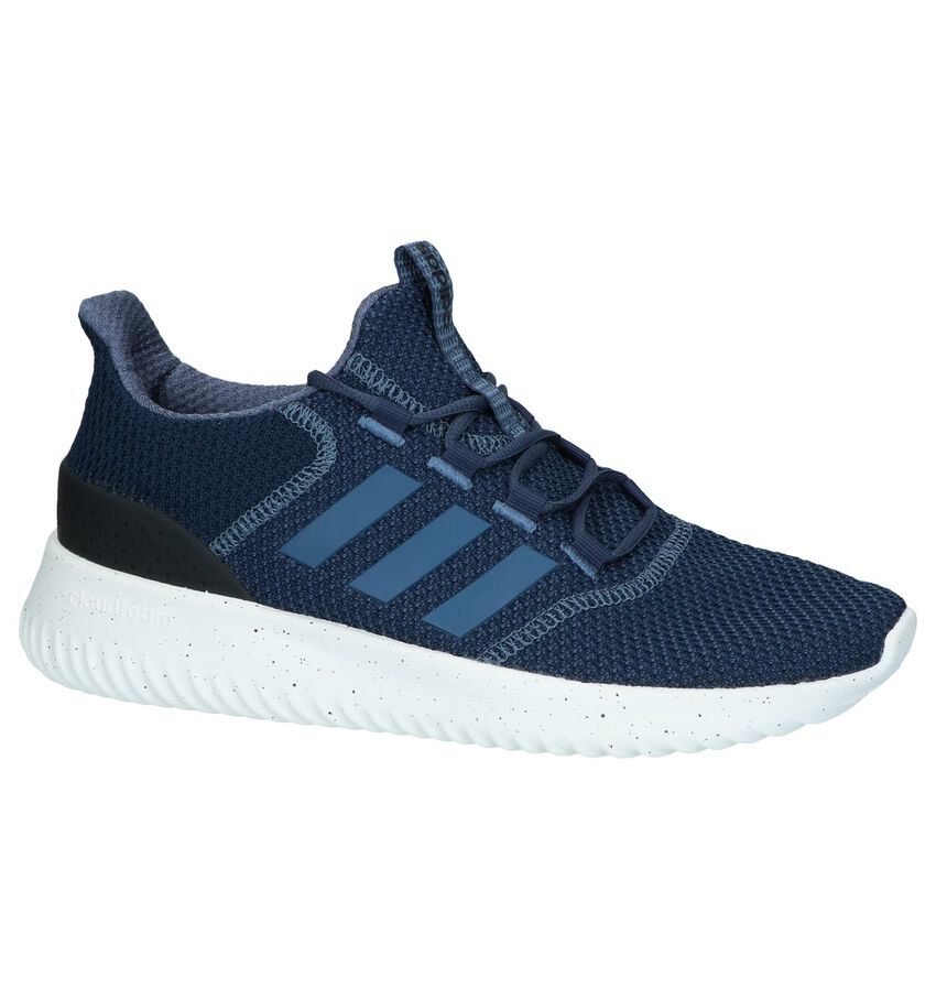 Blauwe Slip-on Sneakers adidas Cloudfoam Ultimate