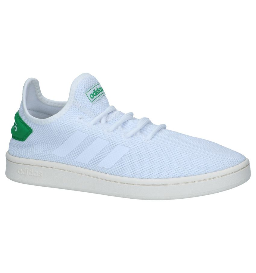 Witte adidas Court Adapt Sneakers