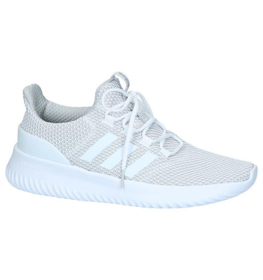 Witte Slip-on Sneakers adidas Cloudfoam Ultimate