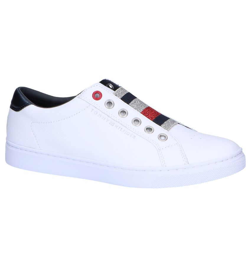 Witte Slip-on Sneakers Tommy Hilfiger
