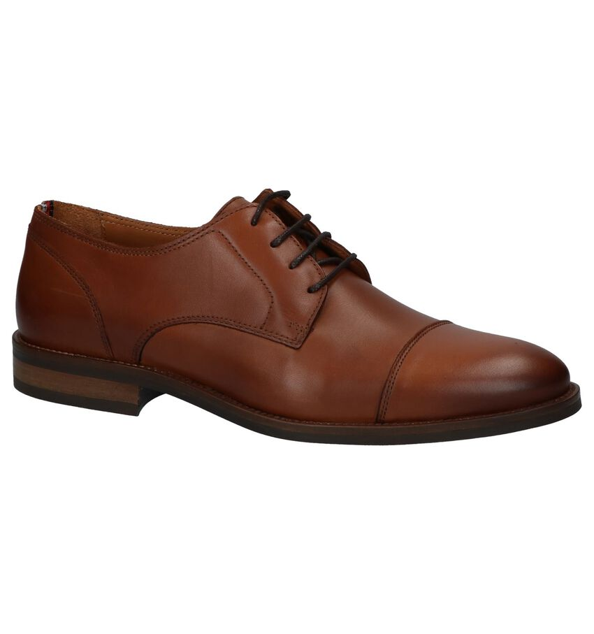 Geklede schoenen Cognac Tommy Hilfiger