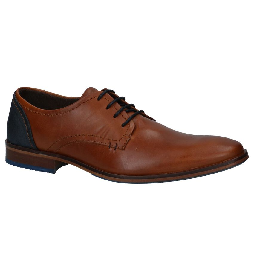 Veterschoenen Gekleed Cognac Bullboxer