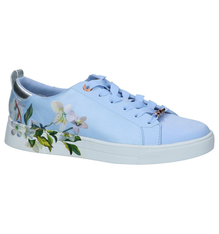 Lichtblauwe Sneakers Ted Baker Orosa