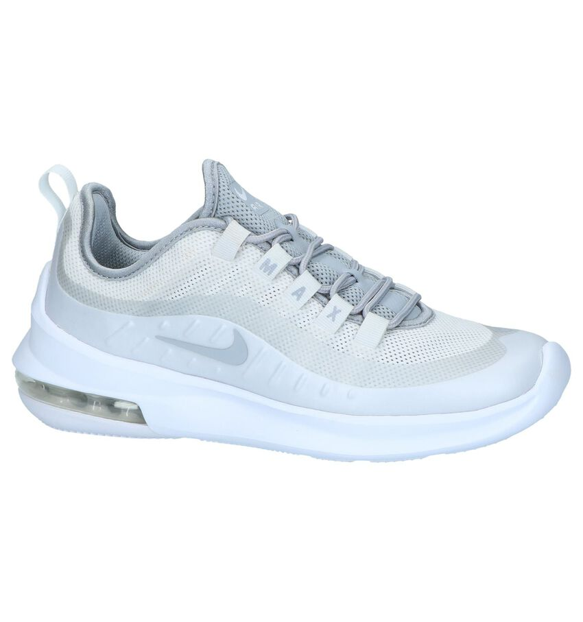 Lichtgrijze Runner Sneakers Nike Air Max Axis