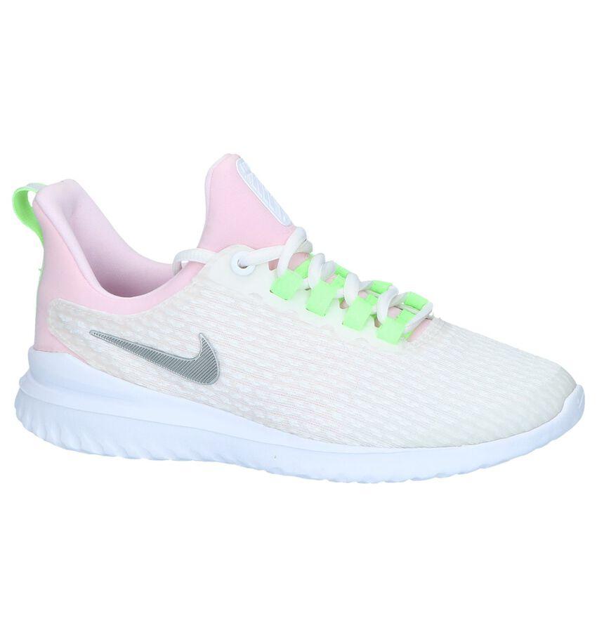 Witte Slip-on Sneakers Nike Renew Rival