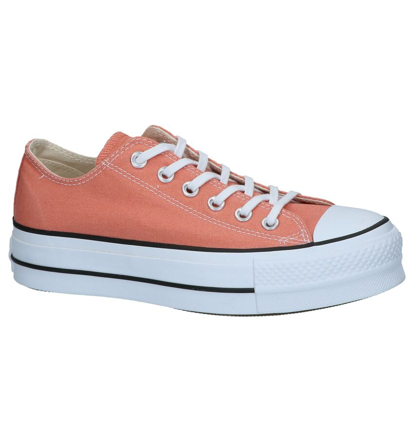 Oranje Sneakers Converse Chuck Taylor AS Lift OX