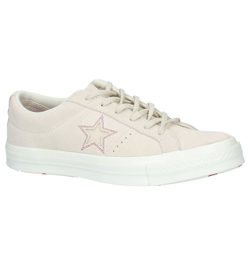 Beige Sneakers Converse One Star OX