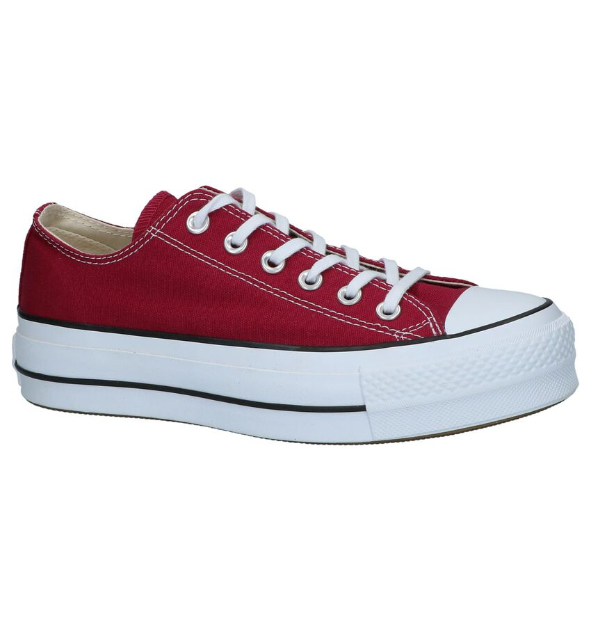 Bordeaux Sneakers Converse Chuck Taylor AS Lift OX