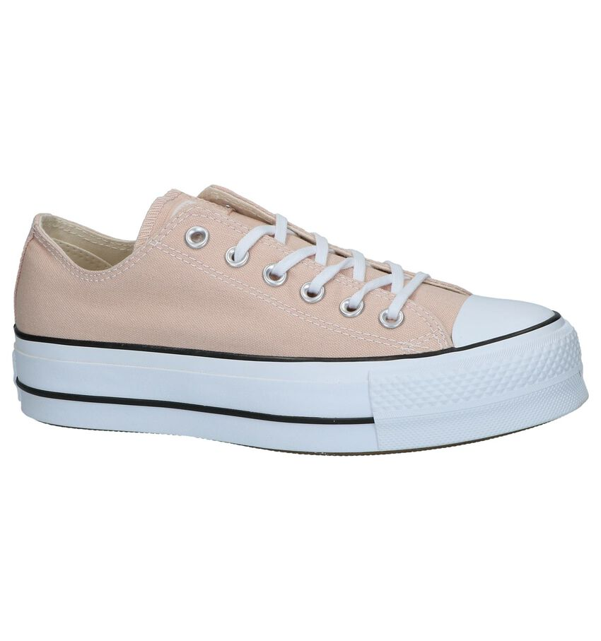 Roze Sneakers Converse Chuck Taylor AS Lift OX
