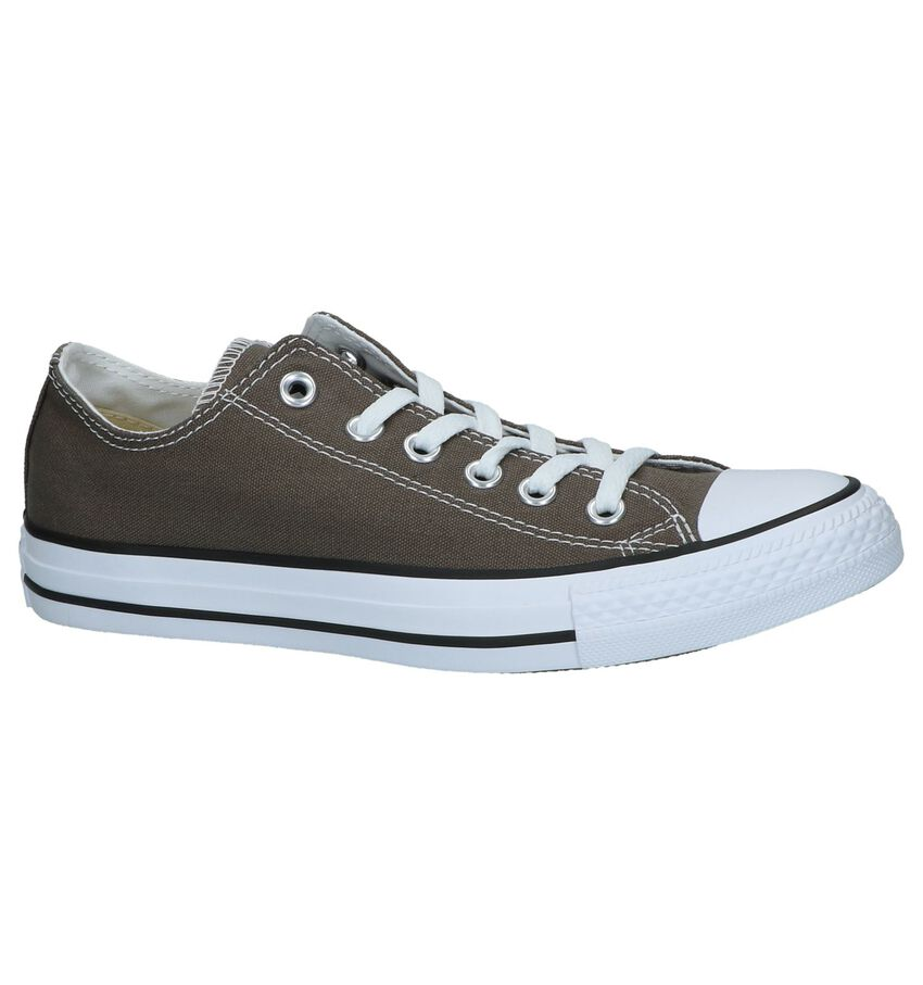 Donkergrijze Sneakers Converse Chuck Taylor AS OX