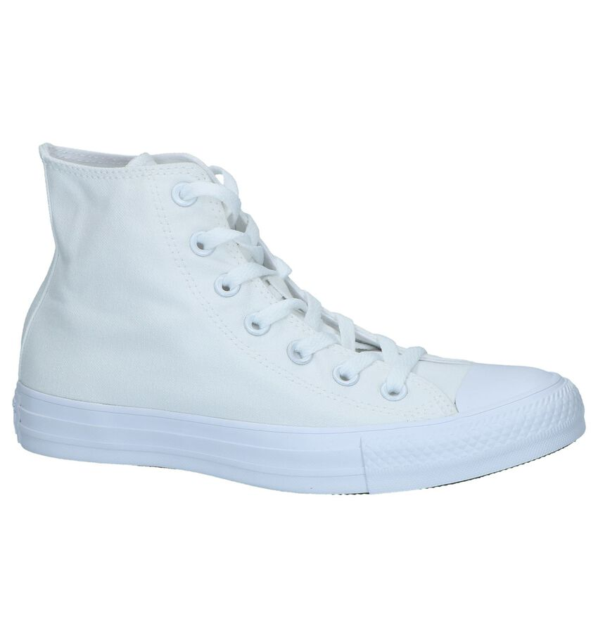 Witte Hoge Sneakers Converse Chuck Taylor AS