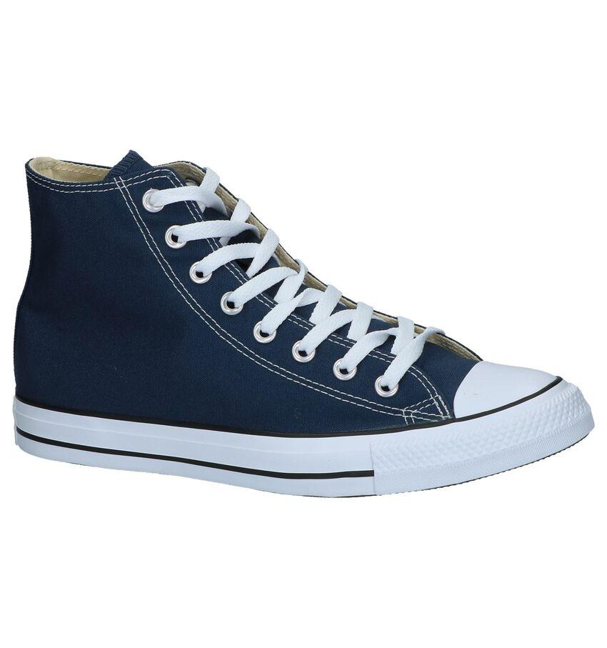 Donkerblauwe Sneakers Converse Chuck Taylor AS Hi