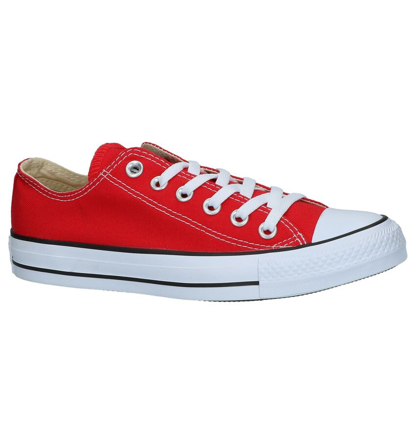Rode Sneakers Converse Chuck Taylor AS OX