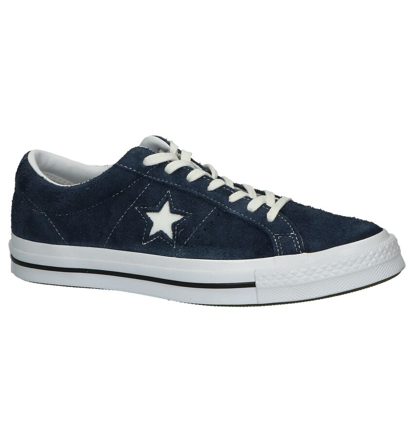 Donkerblauwe Sneakers Converse Chuck Taylor AS