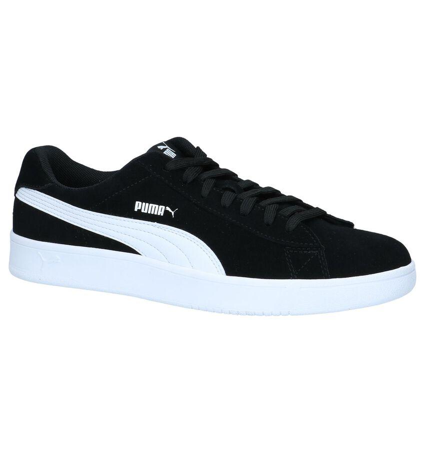 Zwarte Sneakers Puma Court Breaker Derby