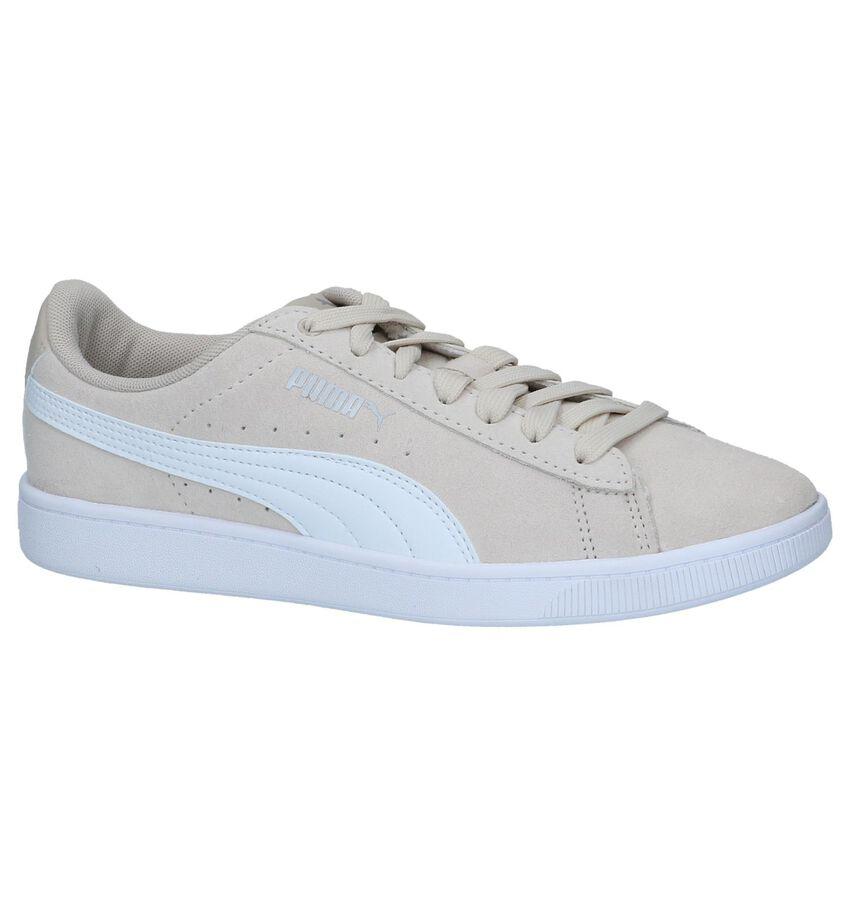 Beige Sneakers Puma Vikky