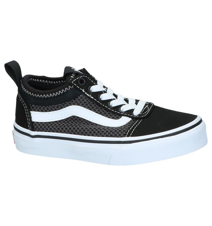 Zwarte Slip-on Sneakers Vans Ward Alt Closure