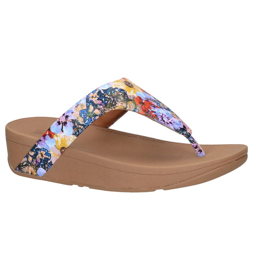 Slippers met Bloemenprint FitFlop Lottie Flower Crush