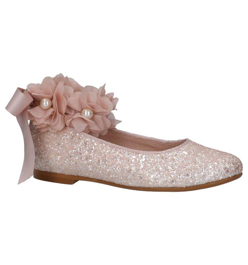 Roze Ballerina's met Afneembaar Bandje Oca-Loca