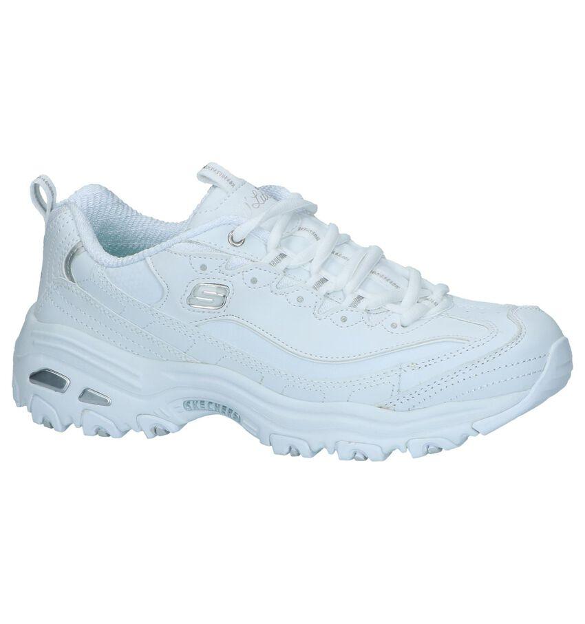 Witte Sneakers Skechers