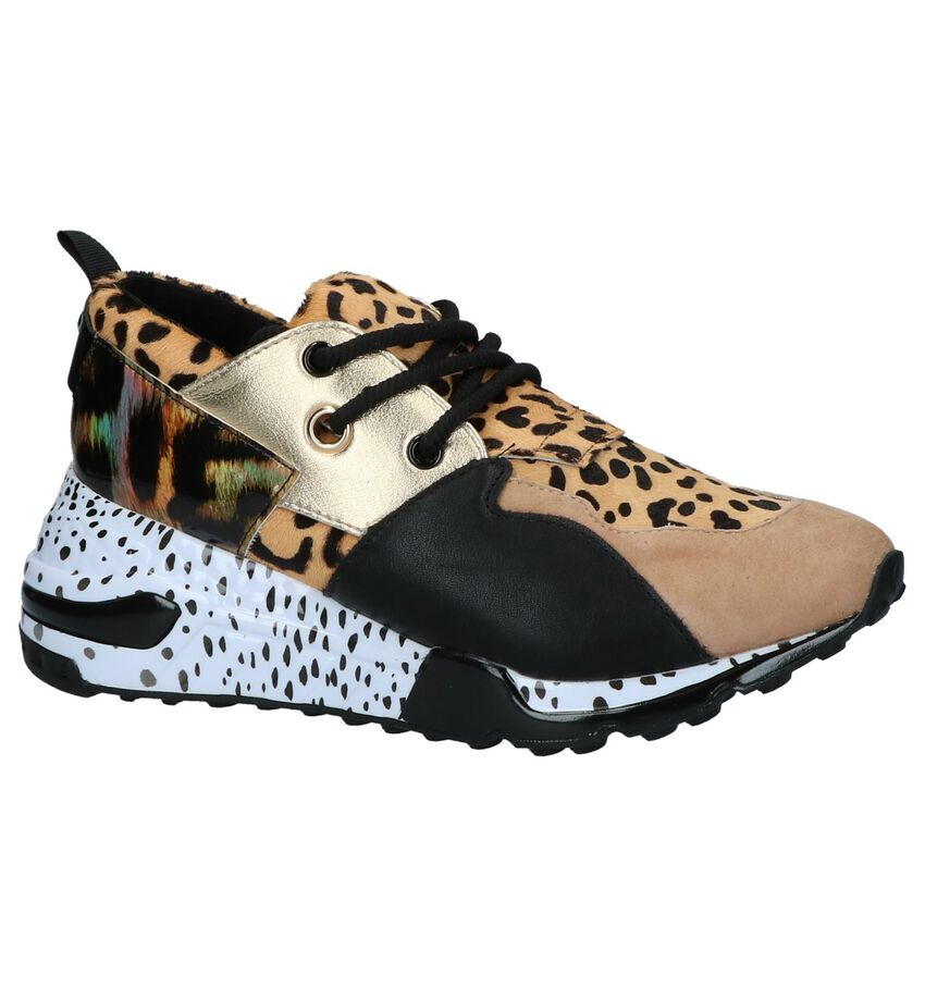 Steve Madden Cliff Luipaardprint Slip-on Sneakers