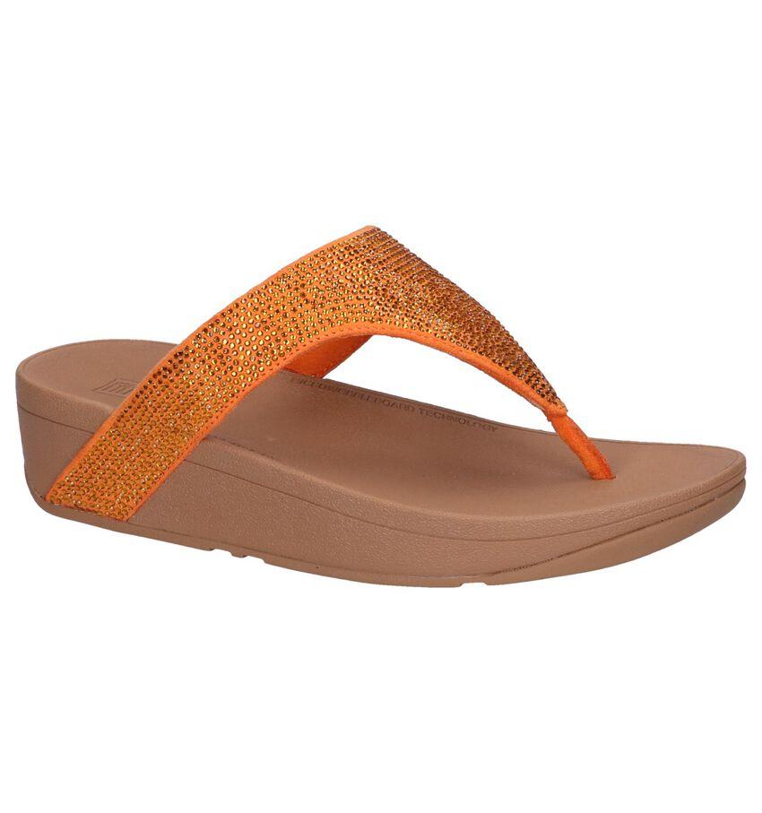 Oranje Slippers FitFlop Lottie Shimmer Crystal