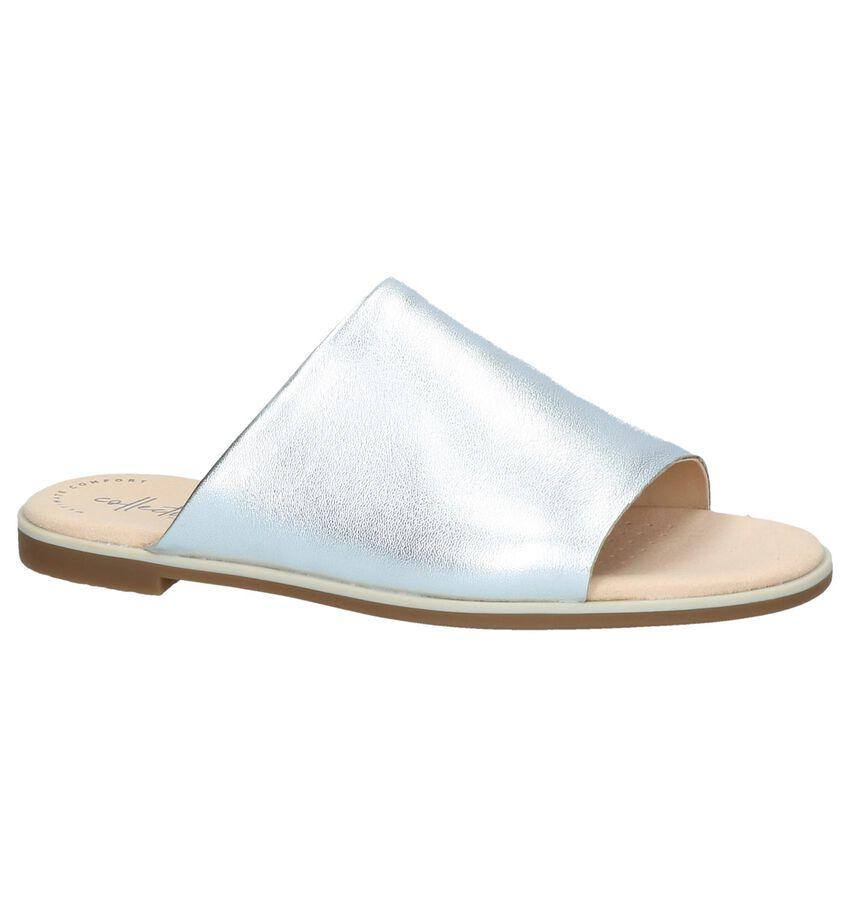 Zilveren Slippers Clarks Bay Petal