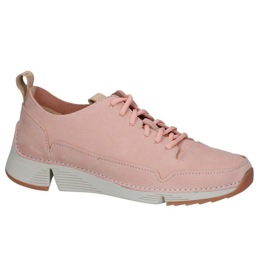 Roze Veterschoenen Clarks Tri Spark