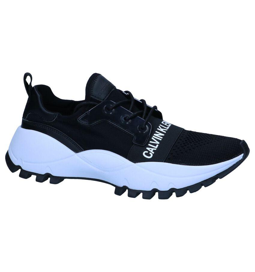 Zwarte Slip-on Sneakers Calvin Klein Talula
