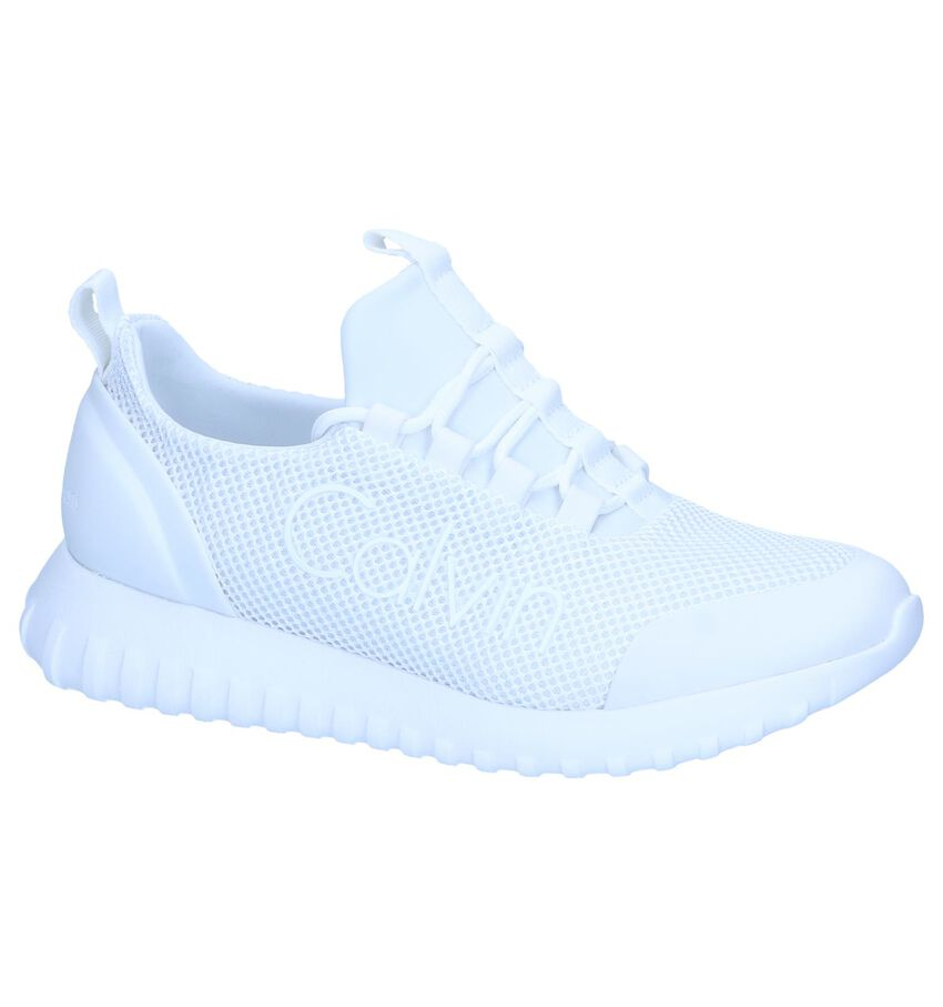 Witte Slip-on Sneakers Calvin Klein Reika