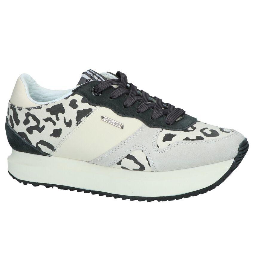 Ecru Sneakers Pepe Jeans Zion Curious