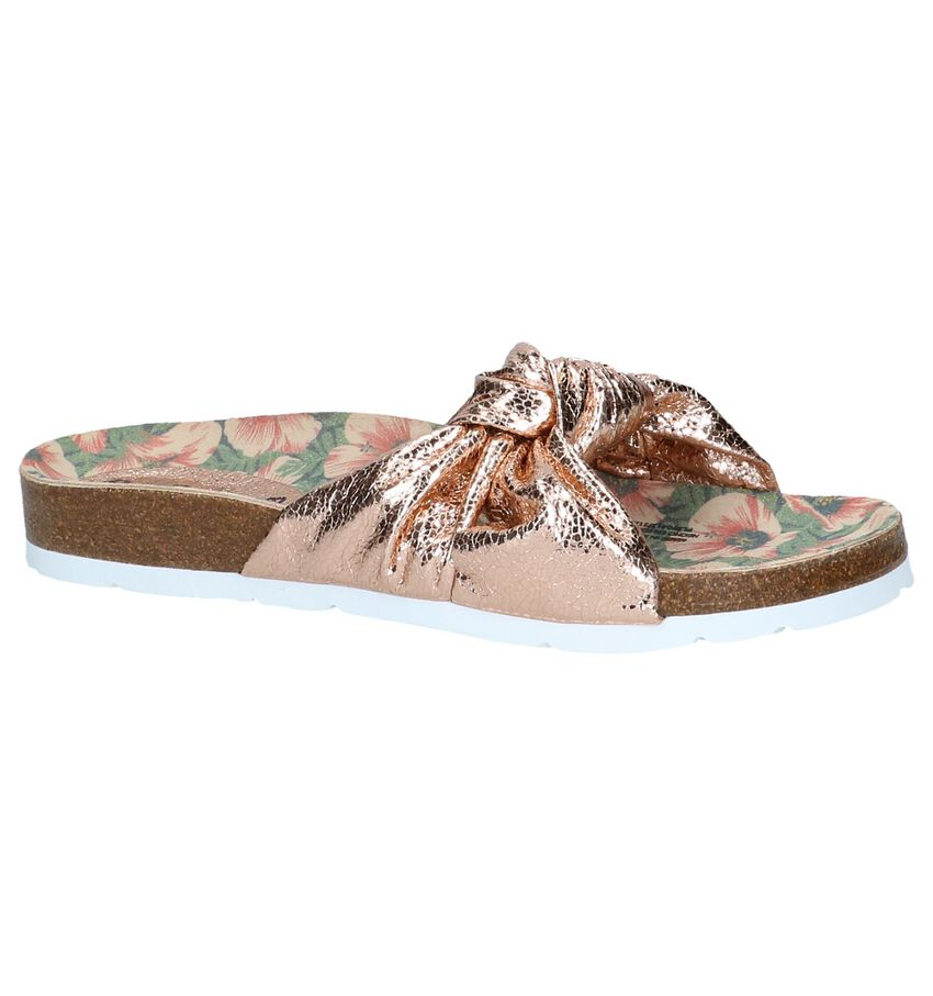 Metallic Roze Slippers Pepe Jeans Oban Bow