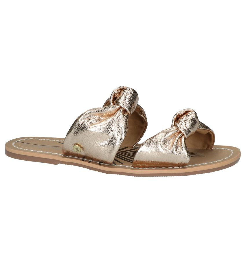 Gouden Slippers Pepe Jeans Malibu Laces